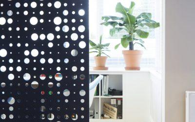 Akoestische panelen voor je kantoor in PET Felt