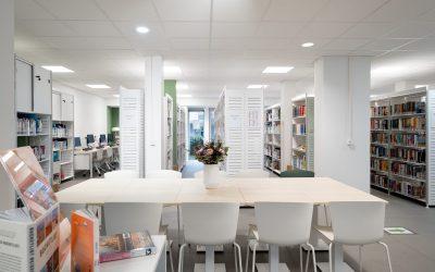 Officiële opening van de nieuwe bibliotheek van de gemeente Rumst in de Schoolstraat
