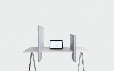 Akoestische schermen voor je bureau in PET Felt